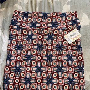New with tags LuLaRoe Cassie skirt large